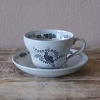 ウェッジウッド パトリッジ コーヒーカップ ソーサー うずら 鳥 ヴィンテージ 食器 #201020-1~4 Wedgwood partridge アンティーク 陶器 ETRURIA BARLASTON