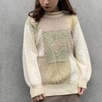 (LOOK) earth color acryl knit