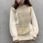 (LOOK) earth color acryl knit