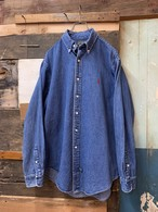 80-90's polo country denim shirt