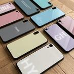 【文字入れ対応】全10色シンプルカラーSSスマホケースiPhoneケース