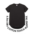 6.5oz DRY COTTON TOUCH ROUND TAIL-T
