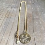 SEA MEDAL NECKLACE  Gold