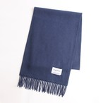 THE INOUE BROTHERS/Brushed Scarf/Indigo