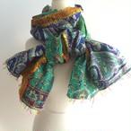 Kantha Silk Scarf (Pachwork Type)