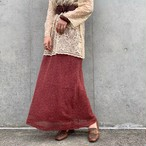 (LOOK) design long skirt