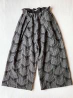 【ハカマパンツ】播州織 C/W  JQ/グレー/original textile