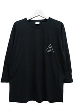 Triangle Pocket T-shirts (Black)