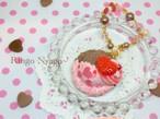 【Ringo Nyago】チョコベリーアイス バッグチャーム i0602112