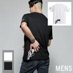 バックプリント  ガン T-shirt(メンズ)
