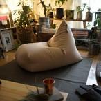通気性の良いコットン100% ビーズクッション Rg ソファ 座椅子 日本製