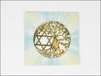 4/15新着★エナジーカード★【Crystal Mind】 ツリーオブライフ&六芒星 〔調和〕