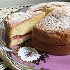 ルバーブ・ヴィクトリアンサンドイッチケーキ