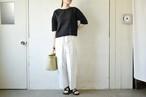cocoon wide pants / miho umezawa