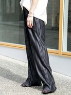 【MENS】プリーツパンツ PLEAT PANTS / Black