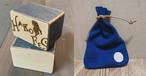 【シェイカー&革巾着・紺】HAKO FES 2020 新ロゴ刻印 オリジナルシェイカー×革コラボ!※限定5セット※