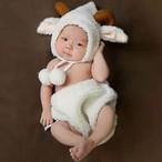【即納】【ベビーコスプレ】 赤ちゃん 衣装 仮装 コスチューム【羊】 S673
