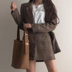 【秋冬新作】PUレザー大きめショルダーバッグ レディース