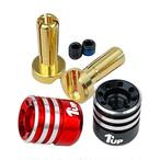 【送料最安値140円!】 1up Racing Heatsink Bullet Plugs - 4mm(ヒートシンクビュレットタイププラグ)