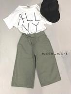 sale☆リネンワイドパンツ