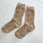 kunkun socksks パン/モカ