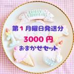 【8月1日〜31日分】3000円おまかせセット