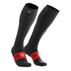 COMPRESSPORT コンプレスポーツ Full Socks Race & Recovery フルソックス レース&リカバリー BLACK(ブラック)FSV3-99T1