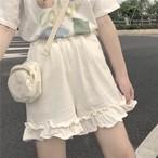 ガーリー♡フリルショートパンツ B0335