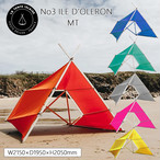 LA TENTE ISLAISE(ラタントイレーズ) No3 ILE D'OLERON(イル・ド・オレロン) MT テント簡単 全6色 ビーチ サンシェード 日よけ アウトドア 用品 キャンプ グッズ