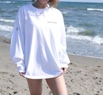 【予約販売開始】Big Long Sleeve Tee White