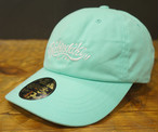 2017 Main Logo Dad Cap Mint Green x White