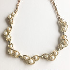"""Coro"" pearl design necklace[n-310] ヴィンテージネックレス"