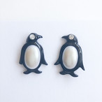 """AVON"" Penelope Penguin pierce[p-723] ヴィンテージピアス"