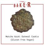 3枚入抹茶小豆オートミール(グルテンフリー/ヴィーガンクッキー)