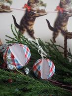 cfm135【メゾンドケイティカルトナージュキット・boule de noel〜クリスマスのボール  キャンディチェック】
