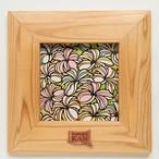 Art 【Plumeria・ナチュラルフレーム】