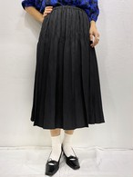 (TOYO) pleats flare skirt