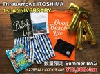 【7/6 11:00販売開始(2日間数量限定)】ThreeArrows ITOSHIMA 1st ANNIVERSARY SUMMER BAG