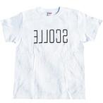 SENA プリント半袖Tシャツ(ホワイト×ブラック)