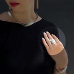 ※父の日カードプレゼント対象商品【全国送料無料】TIN BREATH Ring Silver 10mm