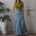 【CINOH】SATIN LONG SKIRT
