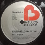 Wild Honey ‎– Why Didn't I Think Of That