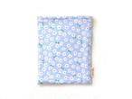 ハリネズミ用寝袋 M(夏用) 綿リップル×スムースニット デイジー