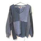 LIOT US Vintage Patchwork Thermal T-shirt ②
