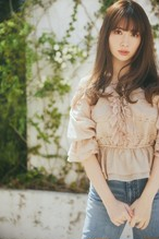 Off-the-shoulder Ruffled Lace Blouse