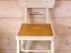 刺繍を施したリメイク椅子 FA-001