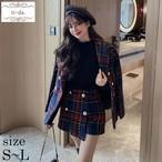 No.361 韓国セットアップ 大人可愛いセットアップ ショートパンツセットアップ