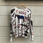 """専用"" Ladies' Cotton Knit Sweater"