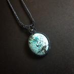 チベタンターコイズ macrame necklace