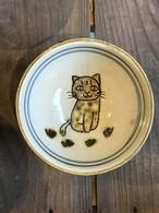 動物やちむん ネコ 子供用 飯椀